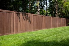 They have so many choices on colors for your vinyl fence!  they even have Vinyl Fence that looks like wood!