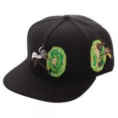 78cac04b257a7 Rick and Morty Portal Adjustable Baseball Cap