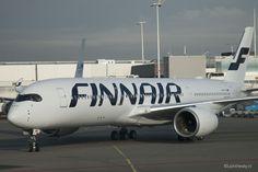 Finnair A350 aangekomen op Schiphol – Fotoverslag   Up in the Sky