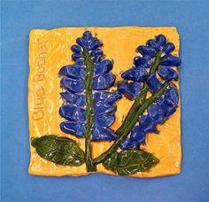 Artsonia Art Museum :: Artwork by Olivia2649, state flower tile