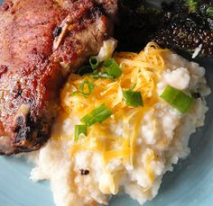 Serena Bakes Simply From Scratch: Skinny Mashed Cauliflower 1/4 The Calories Of Potatoes