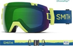 a407c30203150 Smith I OX ChromaPop Snow Goggles Acid Resin Green Mirror Storm Rose Flash  Snowboard