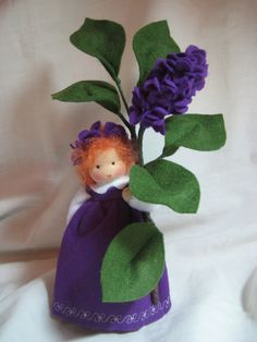 Jahreszeitentisch - Flieder Reserviert ***Reserviert***** - ein Designerstück von Blumenkinder-Unikate bei DaWanda
