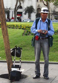 O fotógrafo