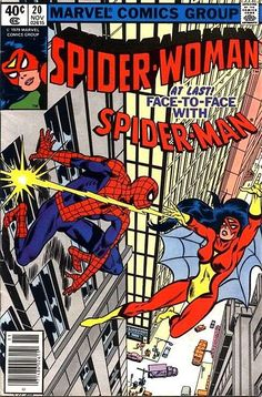 Spider-Woman # 20 by Frank Springer & Frank Giacoia 8/13/2016 ®....#{T.R.L.}