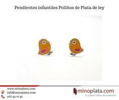 Pío, pío, pío... ¿Qué os parecen estos Pendientes de Plata con esmalte en forma de pollitos? Podéis tenerlos en 24 horas Su precio: 13,50 € Incluye cajita de regalo. Más detalles: https://www.minoplata.com/joyas-infantiles/pendientes-de-plata-ninas/pendientes-infantiles-con-pollitos-de-plata-y-esmalte  #earrings #earring #fashion #accessories #earringaddict #earringstagram #girl #stylish #love #beautiful #cute #earringswag #pendientes #minoplata #plata #women #pendientesniña #joyasinfantiles