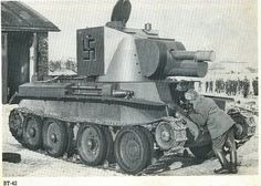 BT 42 finnish assault gun