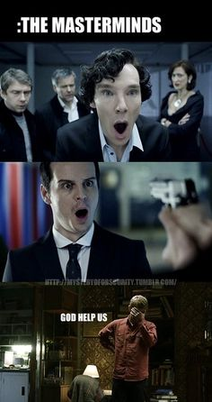 BBC's Sherlock.  Right there with you John.