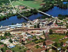 Hedmark fylke Sør-Odal kommune Skarnes tidlig 1980-tallet Utg Widerøe Norway