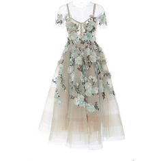Marchesa Off the Shoulder Tea Length Cocktail Dress ($5,495) ❤ liked on Polyvore featuring dresses, gowns, marchesa, white, white tea length dress, off the shoulder gown, white corset dress, off the shoulder evening gown and midi dresses