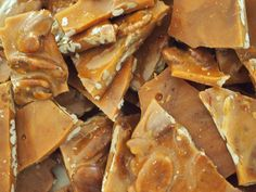 Amazing butter pecan brittle.  The best brittle I've ever had!