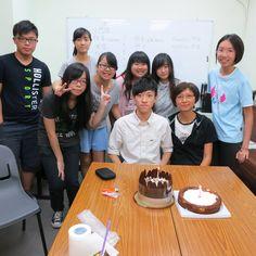 Joyful time with Tin Fook teens and Lok Wai @14-9-2014