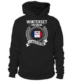 Winterset, Iowa Its Where My Story Begins T-Shirt #Winterset