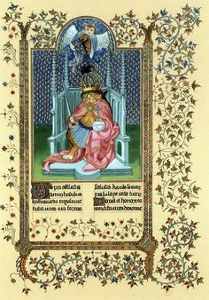 """""""Saint Charlemagne by Limbourg Brothers (Cats Medieval)"""" par Susan Herbert"""