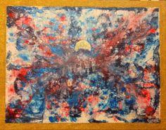 Altre Dimensioni - Acrilico su Tela di Juta - 76 x 60