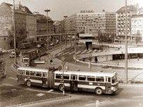 Ilyen is volt Budapest - évek közepe, Baross tér Good Old, Homeland, Vintage Photos, Past, Arch, Train, History, Buses, City