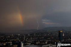 Rainbow&Lightning@Switzerland
