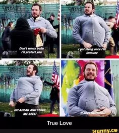 Andy Dwyer being the greatest Parks and Recreation Parks And Rec Memes, Parks And Recs, Parks And Recreation, Movie Quotes, Funny Quotes, Funny Memes, Hilarious, Funny Videos, Andy Dwyer