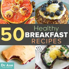 Start your day off right! These are some of my favorite healthy breakfast recipes to whip up in the morning, that are as delicious as they are good for you.