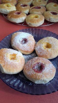 This no all / Disznóól - KonyhaMalacka disznóságai: Sütőben sütött fánk Doughnut, Sugar, Food, Essen, Meals, Yemek, Eten