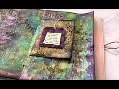 Poppy Forest Art Journal Page - YouTube