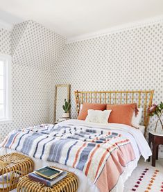 A Boho '70s-Inspired Bedroom With Opalhouse By Target - Emily Henderson