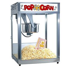 Gold Medal Macho Pop Popcorn Machine  16 oz -- Read more reviews of the product by visiting the link on the image.  This link participates in Amazon Service LLC Associates Program, a program designed to let participant earn advertising fees by advertising and linking to Amazon.com.