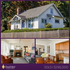 This charming home listed and sold by Essie Murphy looked like it was right out of a storybook! #Framingham #realestate #sold #Dwell360