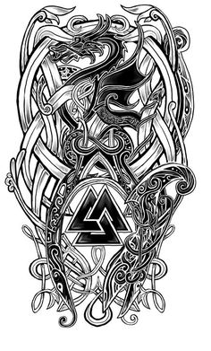 Image result for valknut designs