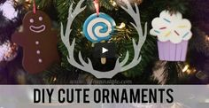 DIY Polymer Clay Ornaments for Christmas (Video)