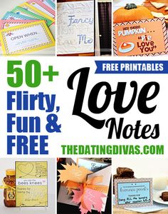 I can't wait to use these 50+ love notes for my hubby! www.TheDatingDivas.com