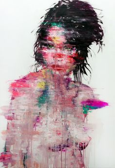 KwangHo Shin [156] untitled oil on canvas 130.3 x 162.2 cm 2013 on Behance