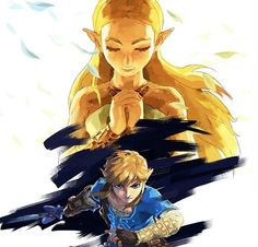 A page for describing Characters: Legend of Zelda: Breath of the Wild: Link and Zelda. The Legend of Zelda: Breath of the Wild Main Character Index Link and … Breath Of The Wild, Zelda Breath Of Wild, The Legend Of Zelda, Legend Of Zelda Breath, Cry Anime, Anime Art, Fanart, Geeks, Girls Anime