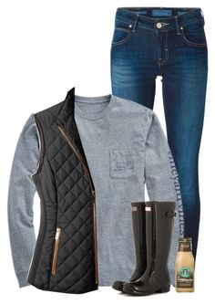 """Vineyard vines and hunters❤️"" by savanahe on Polyvore featuring Jacob Cohёn, Vineyard Vines, LE3NO, Hunter, women's clothing, women's fashion, women, female, woman and misses"