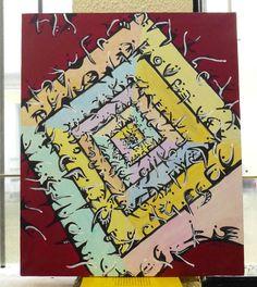 Painting Original #GraçaLeão Acrylic on canvas Fine Art Contemporary  #IllustrationArt