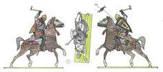 Суздальский тяжеловооруженный дружинник (старшая дружина) 1250-е гг.