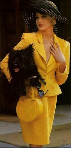 phylliscoppolino: (via Retro '40's Yellow, ensemble. | #Fashion-ivabellini)