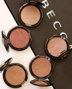 cool The New BECCA Sunlit Bronzers: Are they powders? Are they creams?