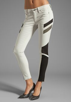 RAG & BONE/JEAN Halifox Legging in Winter White at Revolve Clothing - Free Shipping!
