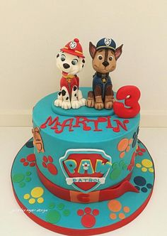 Pow patrol inspired cake by Julieta ivanova