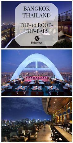 BANGKOK VON OBEN – TOP 10 ROOFTOP-BARS #Rooftop #Bar #Bangkok #Thailand