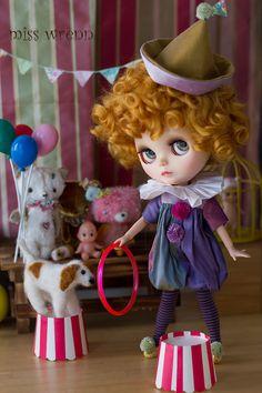 silk circus  sweet tricks by misswrenn on Etsy