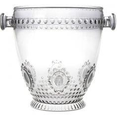 Casa Cadeaux Baci Baroque Champagne Bucket - Clear 9.26 in.