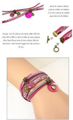 Bracelet 2 tours - perles à tout-va