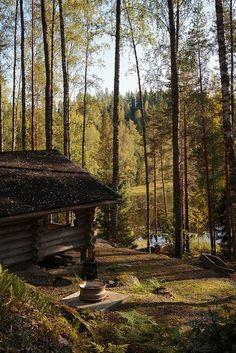 Cute cabin, amazing view. via Distinguished Company