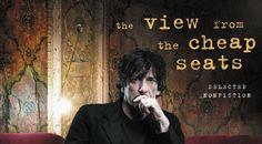 La vista de los asientos baratos, una obra de no ficción de Neil Gaiman - http://www.actualidadliteratura.com/la-vista-de-los-asientos-baratos-una-obra-de-no-ficcion-de-neil-gaiman/