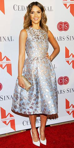 Jessica Alba in Mary Katrantzou
