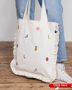 Lazy Oaf Fruit Salad Tote Bag - All - Categories - Women - .- Lazy Oaf Fruit Salad Tote Bag – Alles – Kategorien – Damen – … Lazy Oaf Fruit Salad Tote Bag – All – Categories – Women – - Sacs Tote Bags, Diy Tote Bag, Canvas Tote Bags, Women's Bags, Fabric Tote Bags, Costume Classe, Embroidery Bags, Linen Bag, Cotton Bag