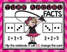 Math for First Grade. This set includes the following: Make a Ten Doubles Doubles plus One Doubles minus One Part Part Whole Turn Around Fact Zero Fact $