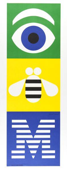 Eye, Bee, M   Paul Rand